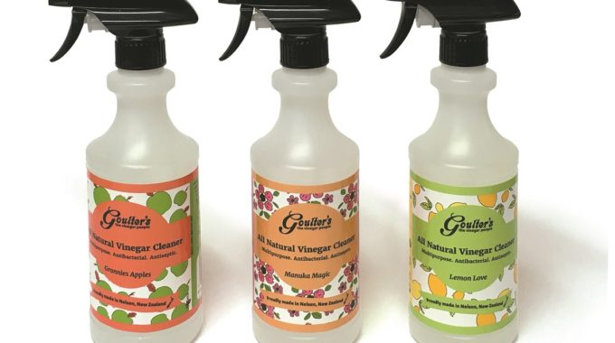 Goulter's Natural Vinegar Cleaner In 500ml Trigger Bottles