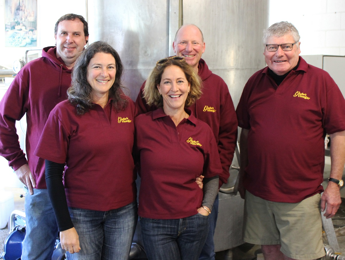 Meet the Goulter's team from left; Geoff, Belinda, Trish, Charlie and Tim