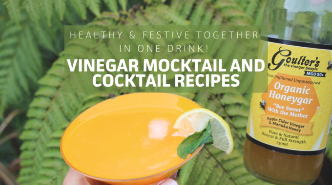 Vinegar Cocktail And Mocktail Recipes