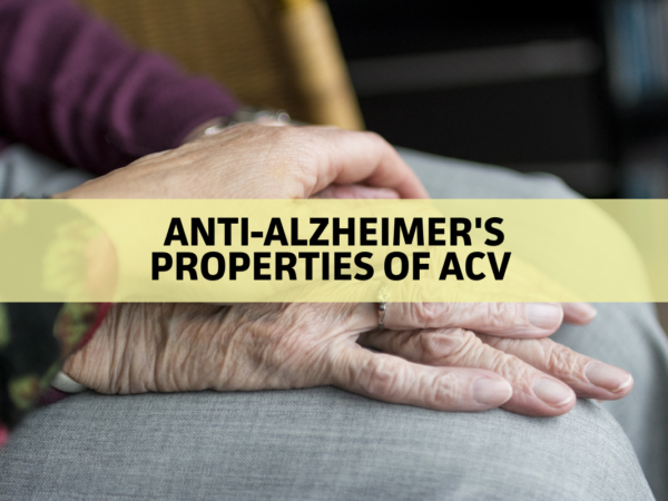 ACV Protects Against Alzheimer's